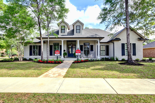 Bayou Parrish 8083 Foxtail Loop Pensacola FL 32526 Front Elevation