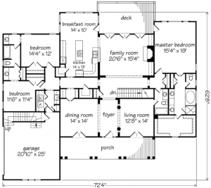Coopers Bluff Floor Plan