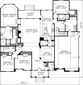 Harrison Place Floor Plan