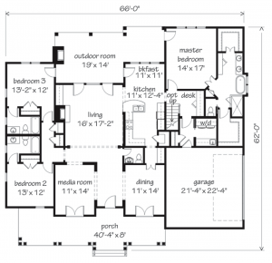 Orange Grove Floor Plan